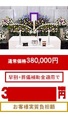 家族葬プラン30万円